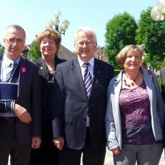 Oberursel : 50 ans de jumelage avec Epinay sur Seine