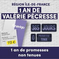 Région Ile-de-France : un an de promesses non tenues
